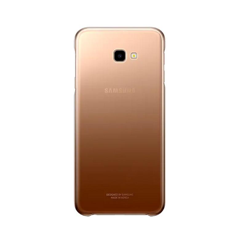 SAMSUNG Galaxy J4+ 漸層透明背蓋 金