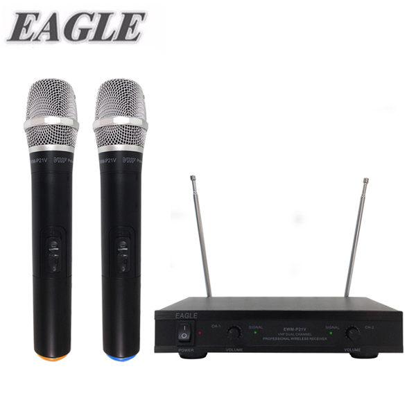 ★獨家送Ardi無線追蹤警報器(市價699) ★【EAGLE】專業級雙頻無線麥克風組(EWM-P21V)