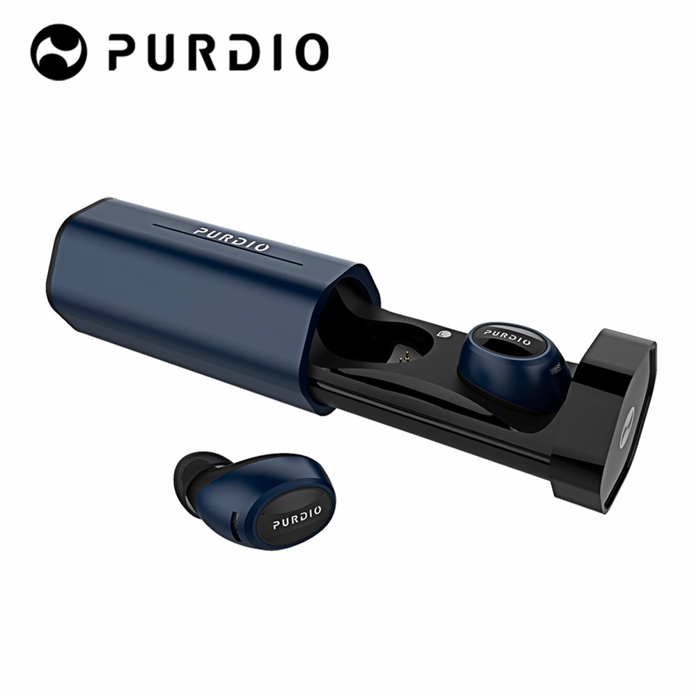 Purdio TX99 HEX+ 真無線藍牙耳機-藍