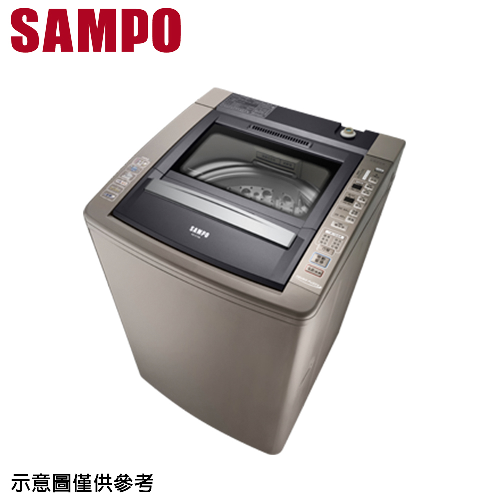 【SAMPO聲寶】15公斤好取式定頻單槽洗衣機ES-E15B(K1)