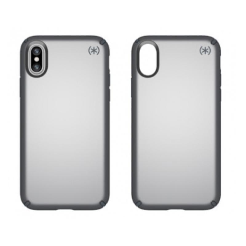 Speck iPhone X/Xs 金屬質感防摔保護殼 鵭灰