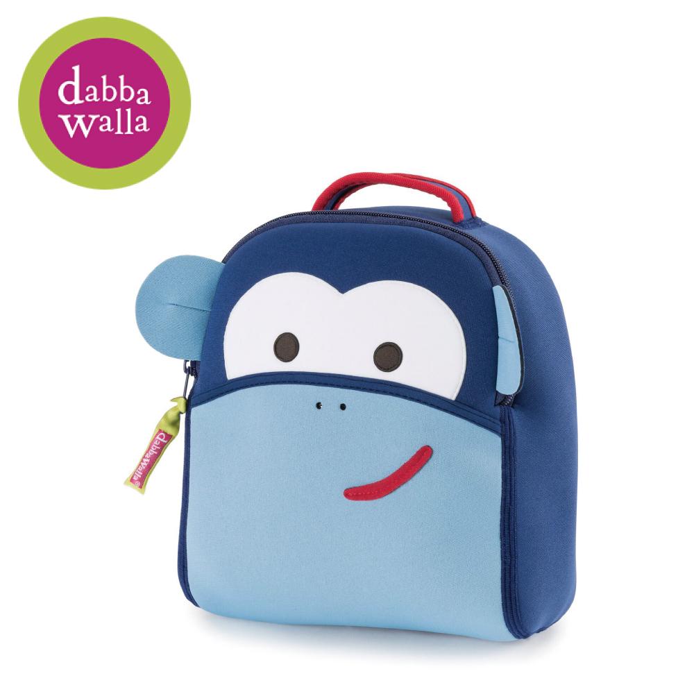 美國Dabbawalla瓦拉包 -藍色猴子防走失兒童後背包