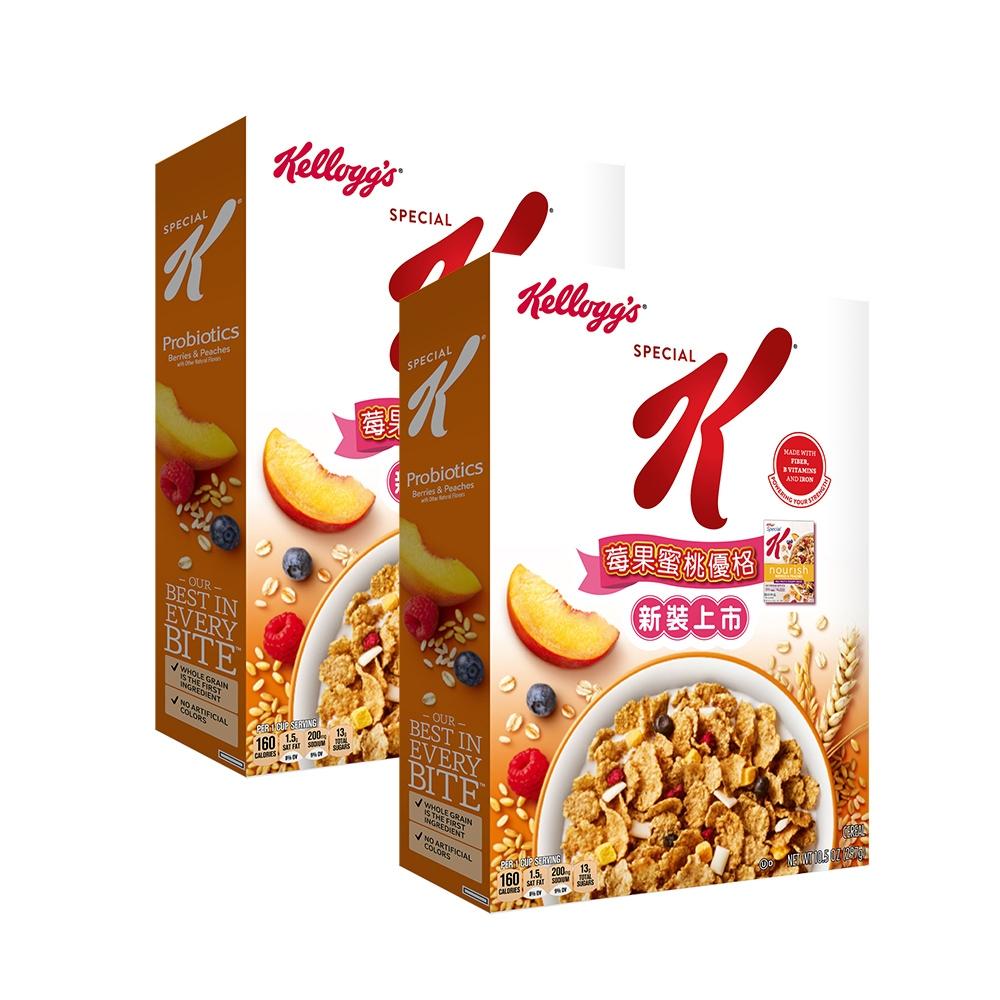 Kellogg's 家樂氏Special K 莓果蜜桃優格 297gX2