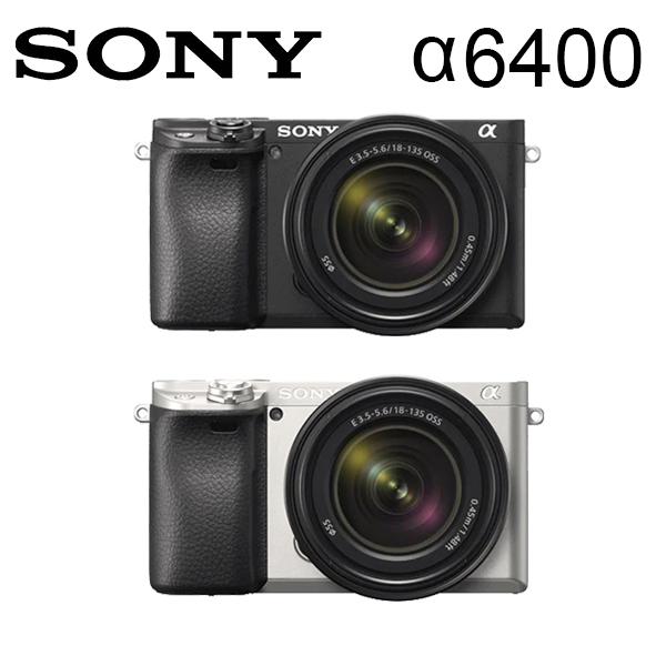 加贈原廠ACC-TRW電池組 SONY A6400 單機身-黑色 (公司貨) 送64G高速卡電池超值組~