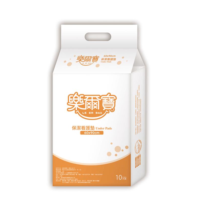 樂爾寶 成人紙尿褲 看護墊標準型 60x90cm (10片 x 10包)/箱