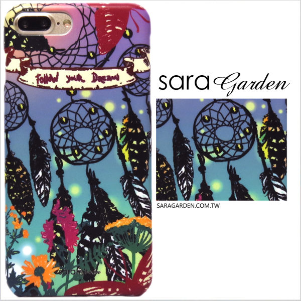 【Sara Garden】客製化 手機殼 華為 P10Plus P10+ 保護殼 硬殼 漸層渲染捕夢網