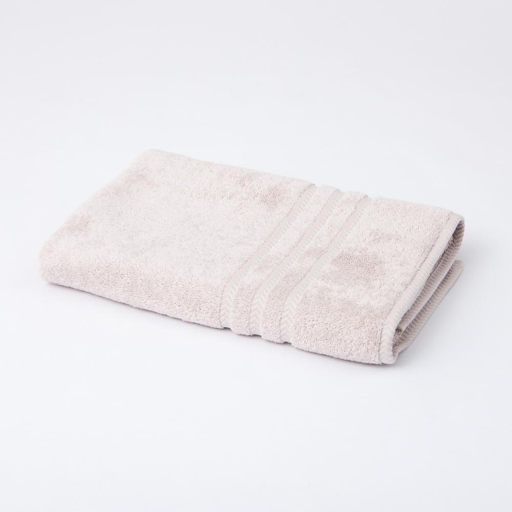 Turkey純棉浴巾-水晶灰-生活工場