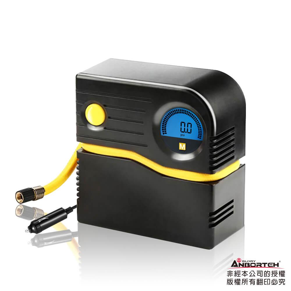 【安伯特】胎神 輕巧數位打氣機 銅芯電機 快充 迷你便攜