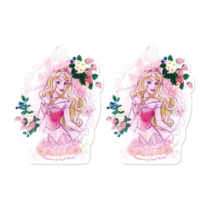 Disney迪士尼公主花瓣泡澡片-睡美人〈莓果香〉-2入組