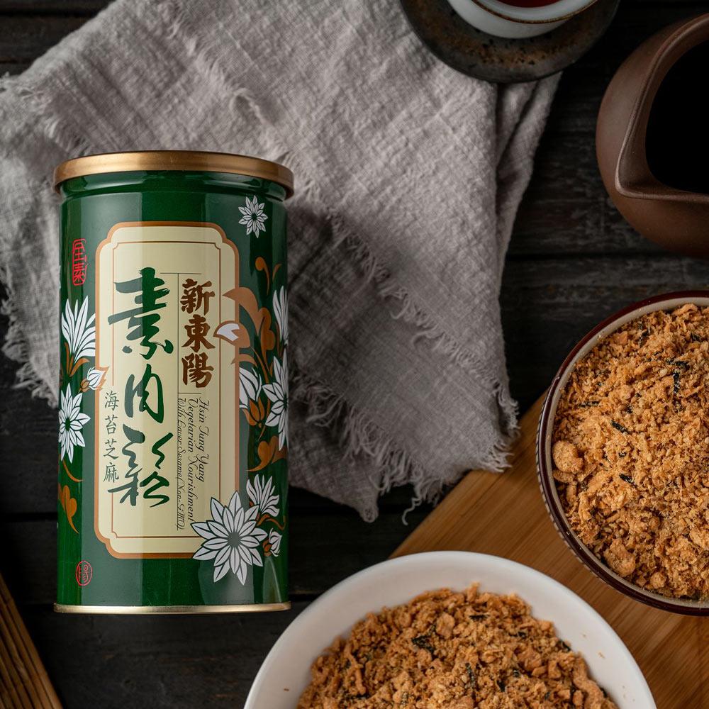【新東陽】海苔素肉鬆 (280g*2 罐)