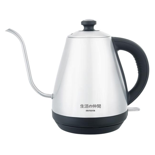 【AIWA愛華】不鏽鋼細口咖啡快煮壺 EK110410SR