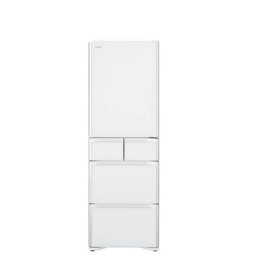 日立407公升五門(與RSG420J同款)冰箱星燦白RSG420JXW