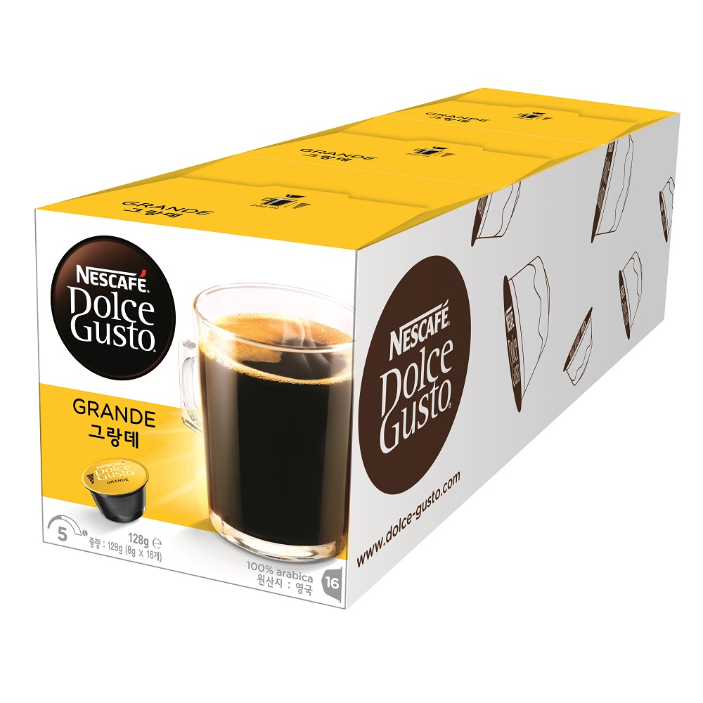 【雀巢 Nestle】雀巢咖啡 DOLCE GUSTO 美式醇郁濃滑咖啡膠囊16顆入x 3