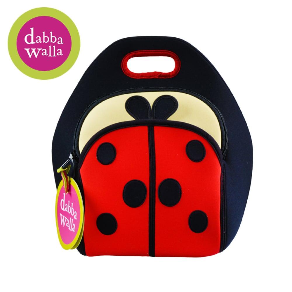 美國Dabbawalla瓦拉包 -瓢蟲兒童手提包