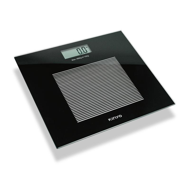 KINYO 黑晶電子體重計 DS-6583