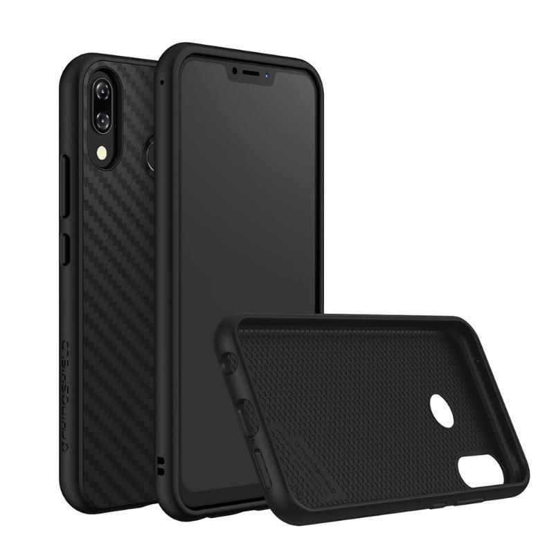 犀牛盾SolidSuit碳纖維背蓋手機殼ASUS ZenFone5 (ZE620KL) 黑