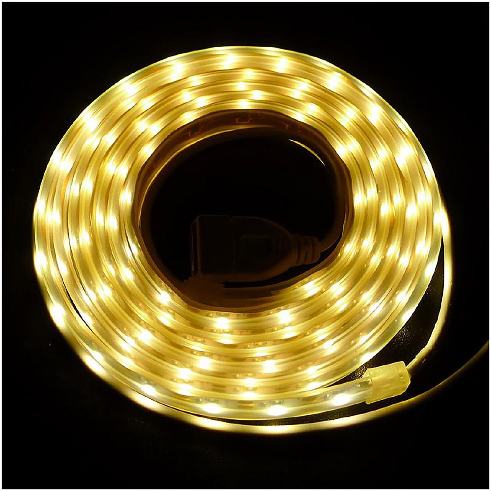 【OutdoorBase】帳篷LED燈條防水燈條2M-23236暖黃光