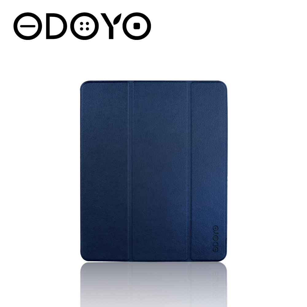 ODOYO iPad Pro 12.9吋智慧休眠超纖細保護套(2020)海軍藍