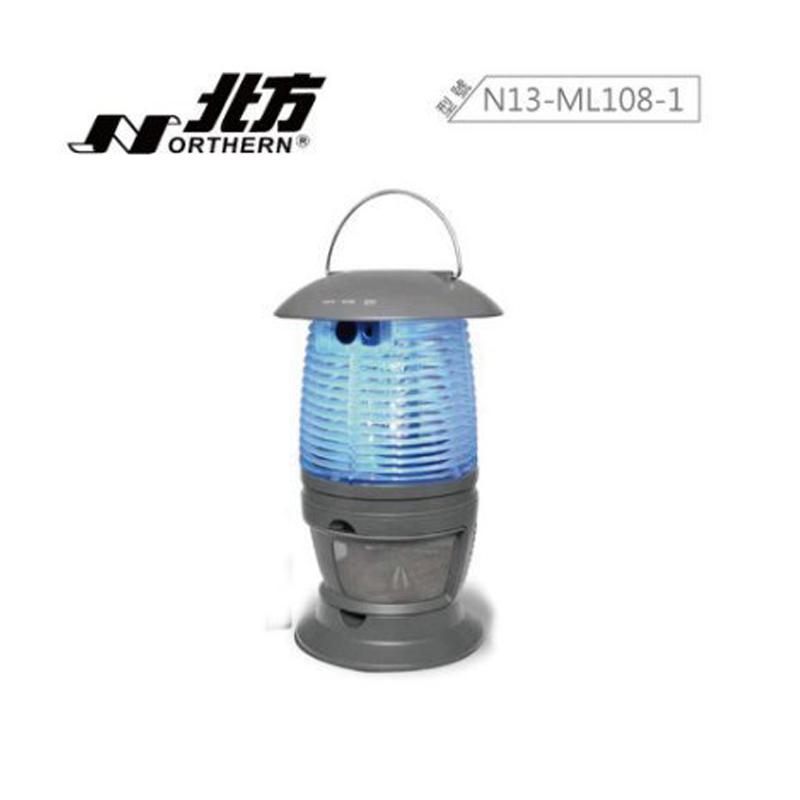 露營必備款 NOTHERN 北方 ML108-1 充電式 LED 吸入式 捕蚊燈