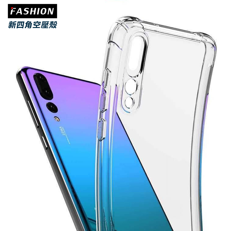 HUAWEI Y9 (2019) TPU 新四角透明防撞手機殼