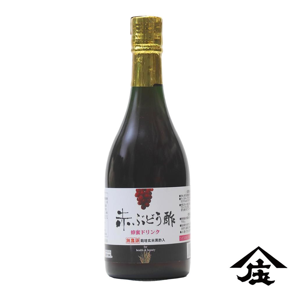 【庄分酢】葡萄紅酒蜂蜜酢(500ml/瓶) )