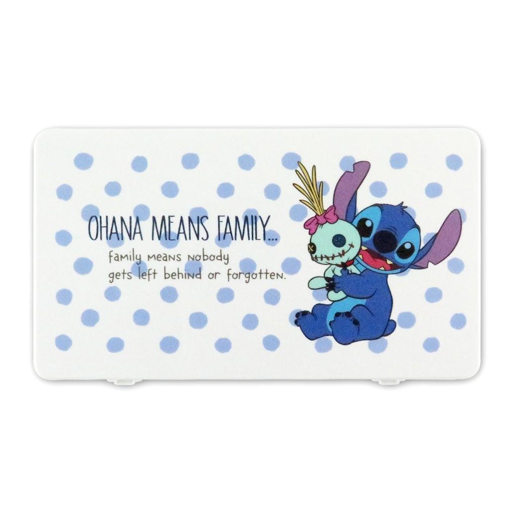 Disney迪士尼系列口罩收納盒_圓點史迪奇