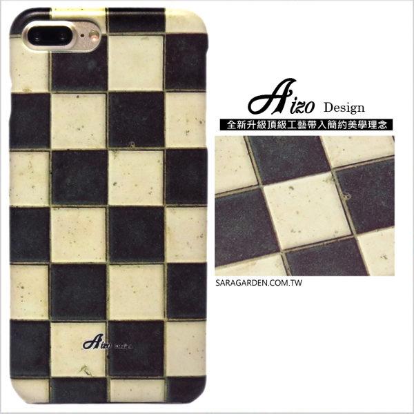 【AIZO】客製化 手機殼 SONY Z5P Z5 Premium 保護殼 硬殼 棋盤格磁磚