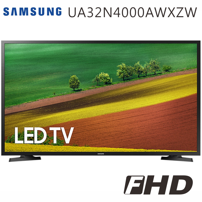 SAMSUNG三星 32吋 LED液晶電視(UA32N4000AWXZW)*送國際14吋微電腦立扇