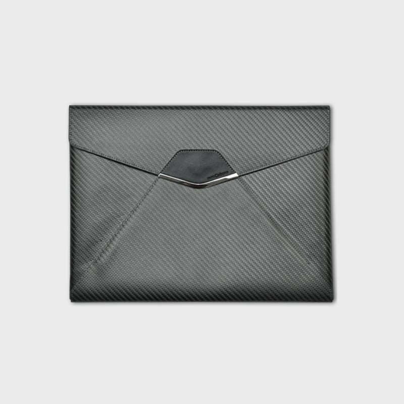 monCarbone Sleek Elite 菁英款碳纖維收納袋 for iPad Pro 9.7吋