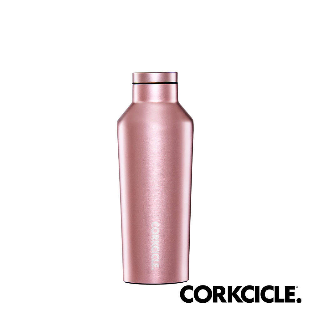 美國CORKCICLE Metallic系列三層真空易口瓶/保溫瓶270ml-玫瑰金