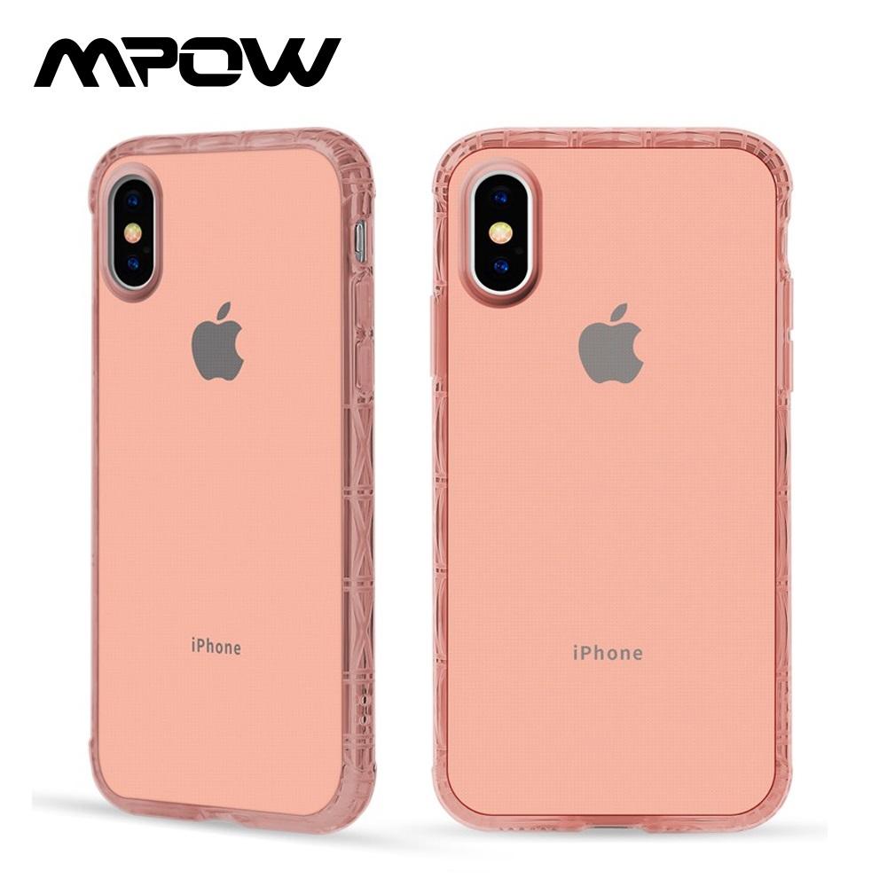 【美國熱銷】MPOW iPhone 7 Plus/8 Plus 軍規防摔手機殼-粉色