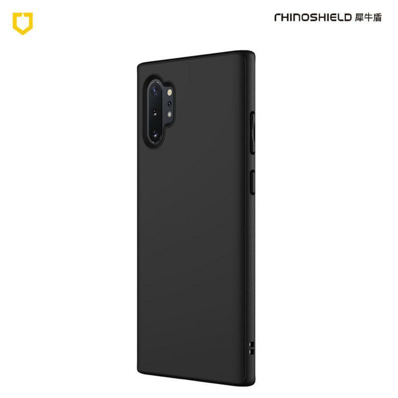 犀牛盾SolidSuit防摔背蓋手機殼 SAMSUNG Galaxy Note10+ 經典黑