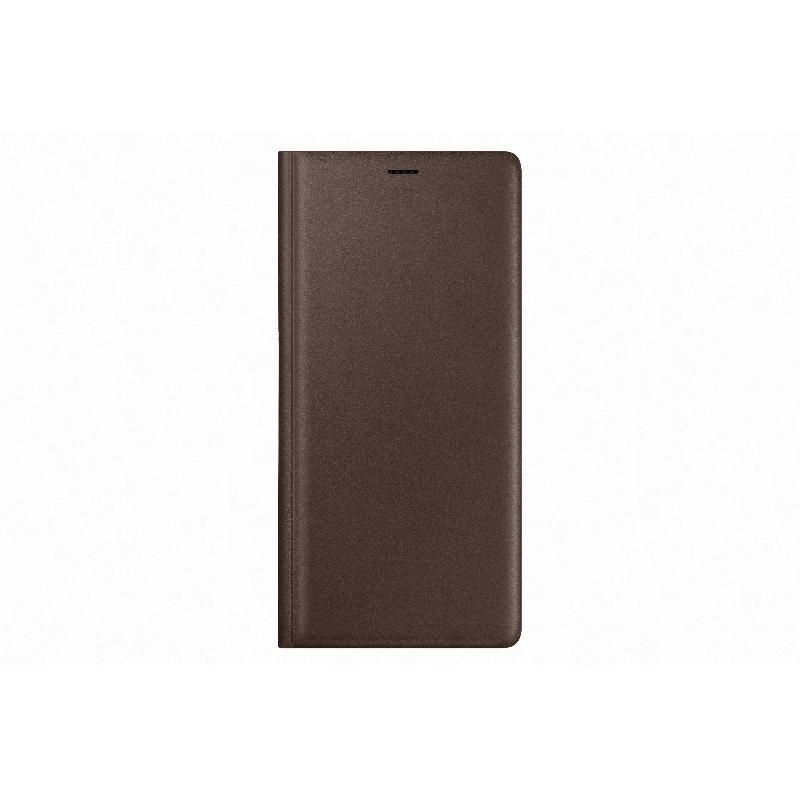 SAMSUNG Galaxy Note9 經典真皮革皮套 棕