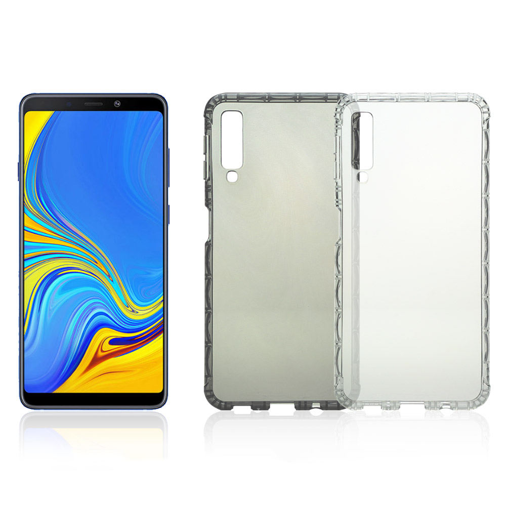 X 世代 SAMSUNG Galaxy A7(2018) 軍規防摔殼(透明)