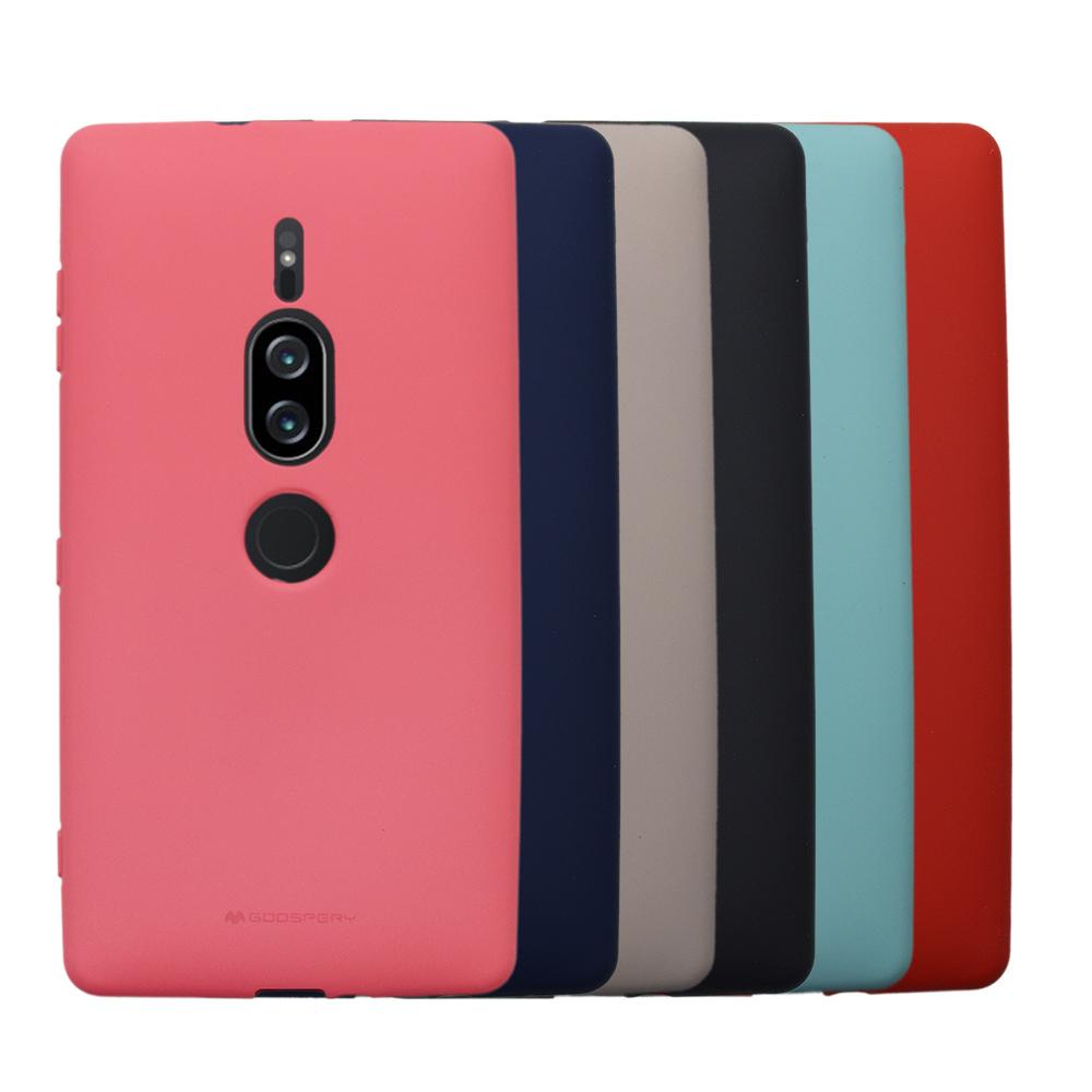 GOOSPERY SONY Xperia XZ2 Premium SOFT FEELING 液態矽膠殼(粉紅)