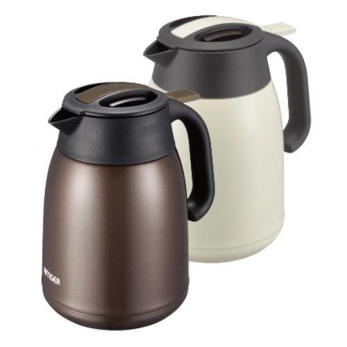【TIGER虎牌】1.2L提倒式不銹鋼保溫熱水瓶-TV深咖啡 PWM-B120-TV