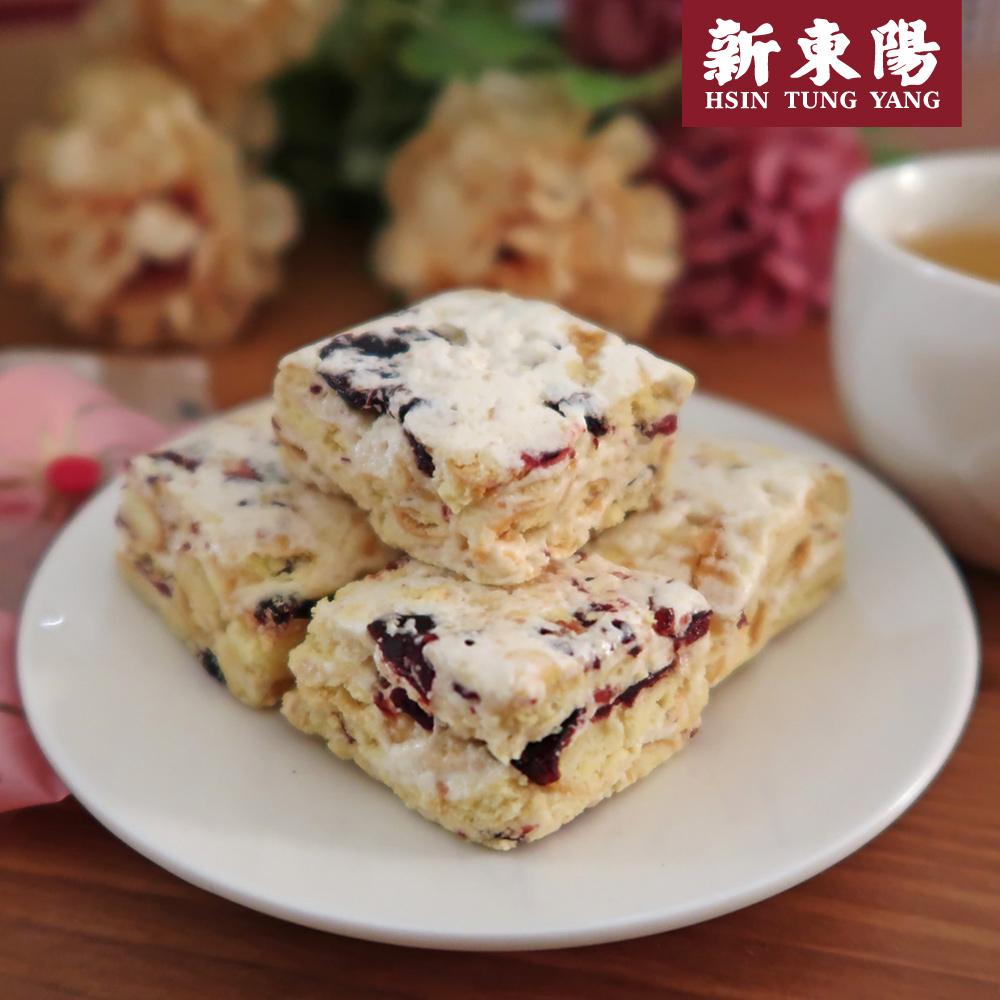 【新東陽】雪花餅-蔓越莓(180g*5包),免運