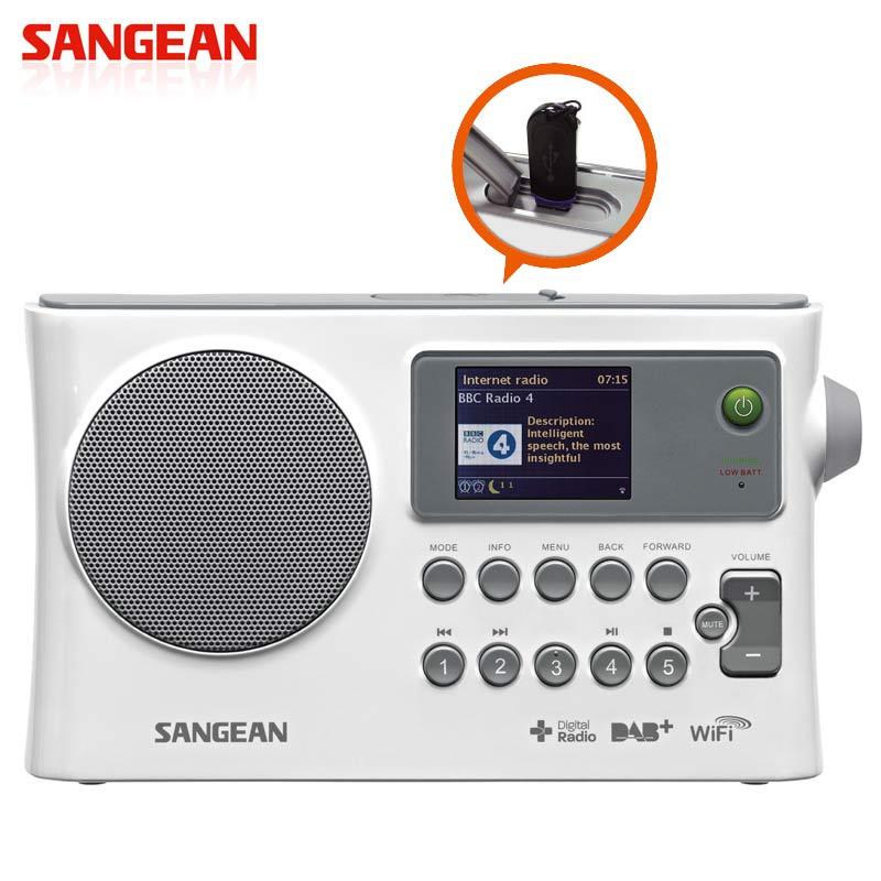 山進 SANGEAN WFR-28CWiFi網路收音機 / 調頻 / USB 網路收音機