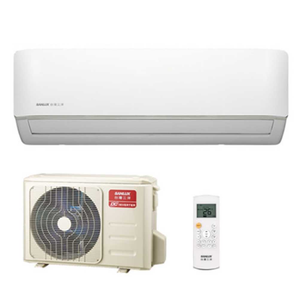 ★含標準安裝★【SANLUX台灣三洋】變頻單冷分離式冷氣SAE-V22F/SAC-V22F《3坪》