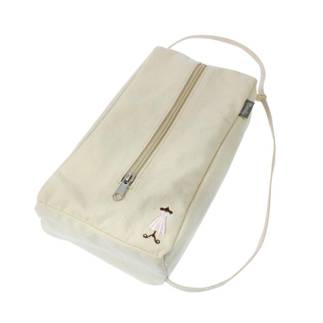 日本YAC 刺繡帆布面紙盒套(PF-327)