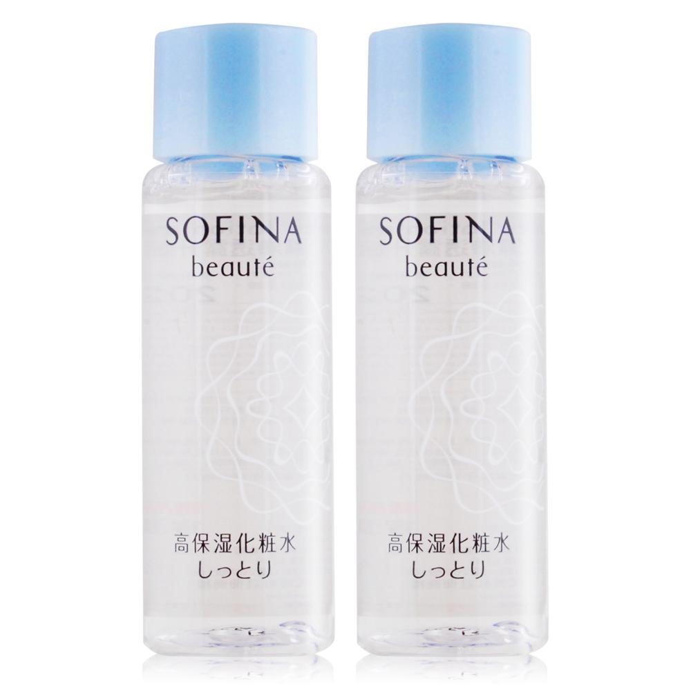SOFINA 蘇菲娜 芯美顏保濕滲透露升級版-清爽型(30ml)X2