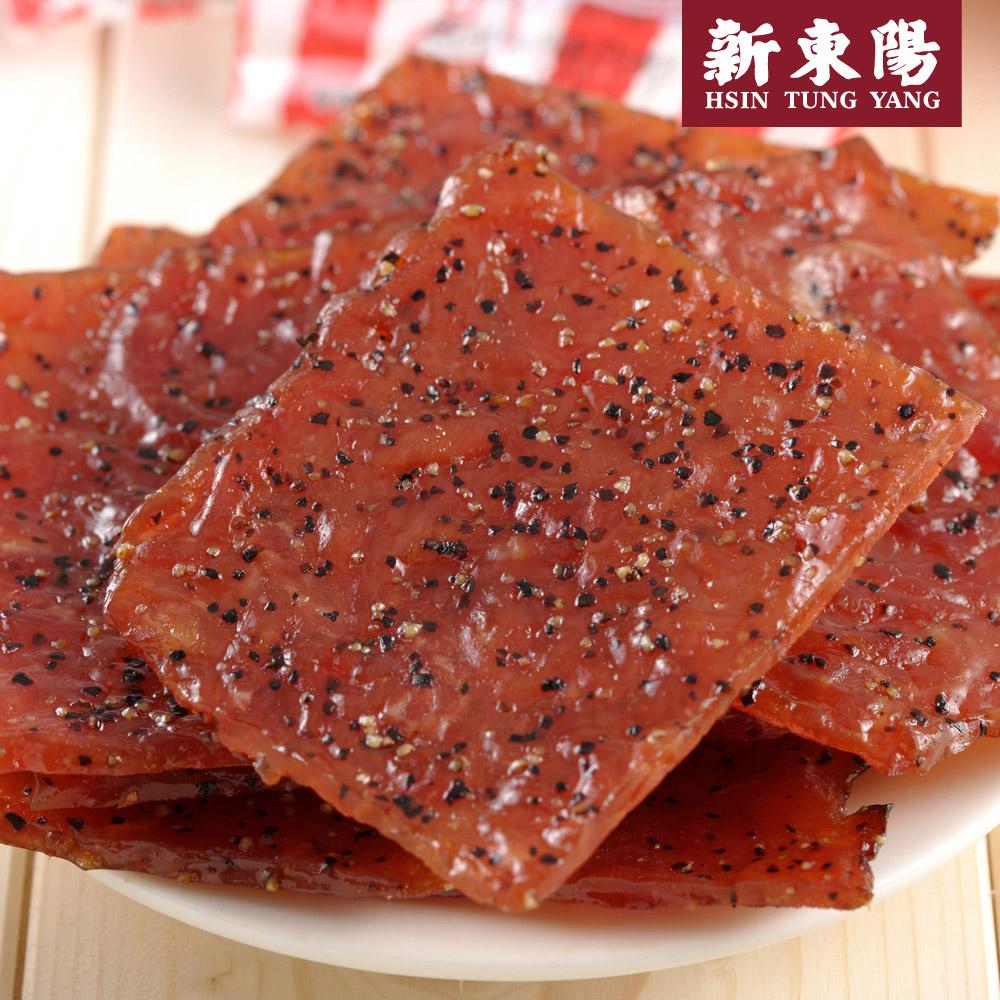 【新東陽】I-mini黑胡椒豬肉乾 (105g*5包)