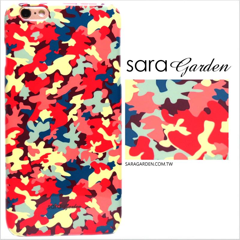 【Sara Garden】客製化 手機殼 蘋果 iPhone 6plus 6SPlus i6+ i6s+ 潮流 粉嫩 迷彩 硬殼 限定