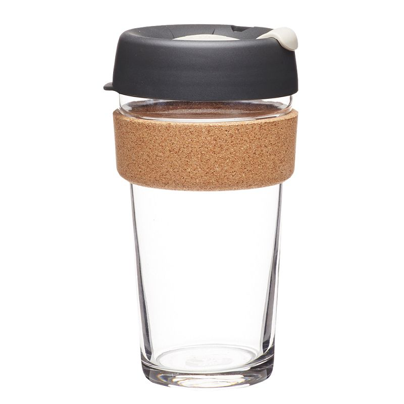 澳洲 KeepCup 隨身咖啡杯 軟木系列 L - 重烘焙