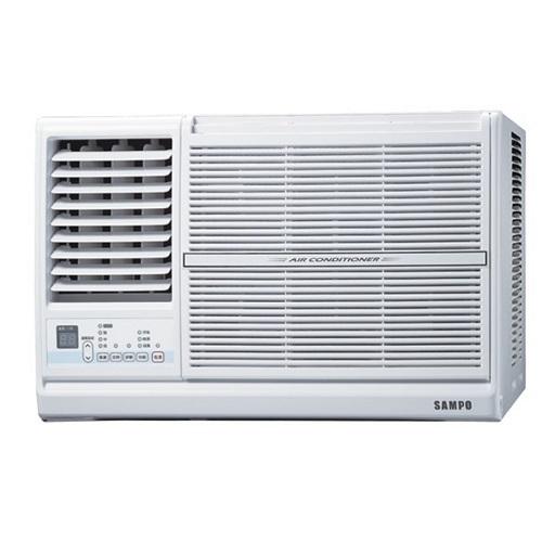 ★含標準安裝★【SAMPO聲寶】定頻窗型冷氣11坪AW-PC72L左吹