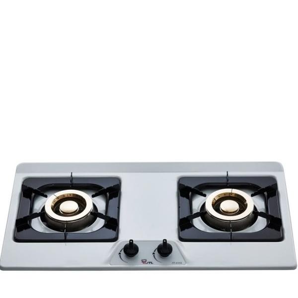 (全省安裝)喜特麗二口爐檯面爐(與JT-GC212S同款)白鐵瓦斯爐天然氣JT-GC212S_NG1