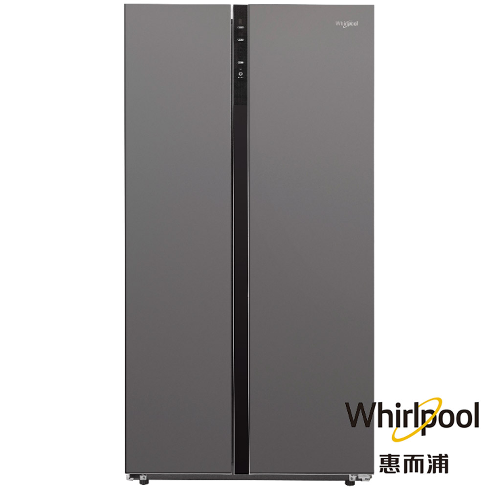 (獨家)買就送OCLEAN旗艦電動牙刷【Whirlpool惠而浦】590公升對開門雙門冰箱 WHS620MG (WHS600LW新款)