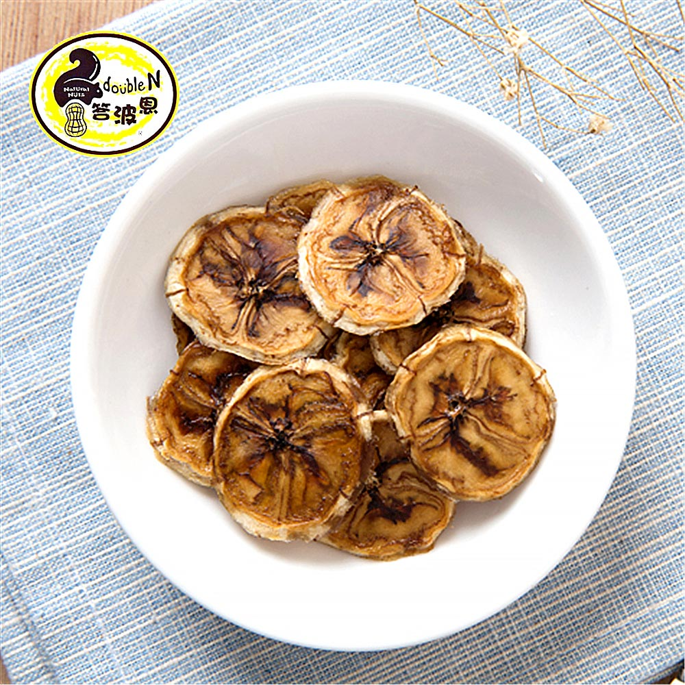 《答波恩》天然香蕉乾(80g/包,共兩包)