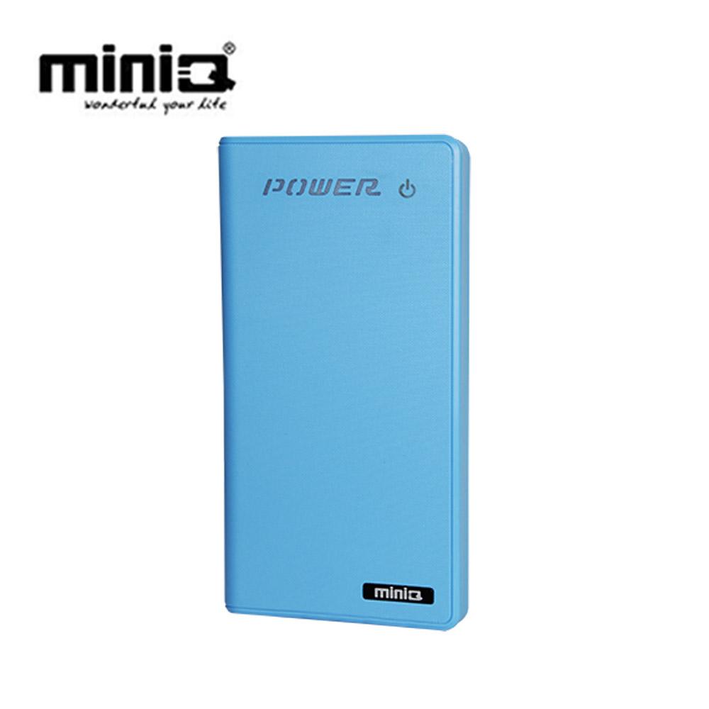 miniQ Touch 12000+雙輸出觸碰式行動電源12000mAh - 藍色