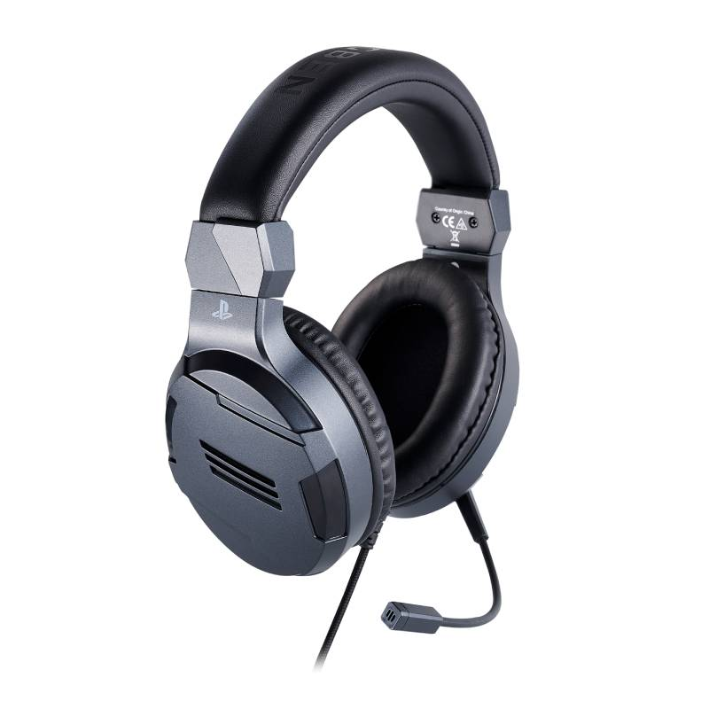 PS4 BIGBEN 立體聲電競耳機 鋼鐵灰